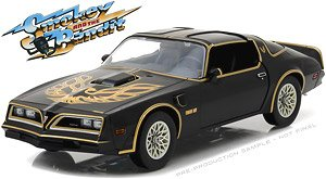 Smokey and the Bandit - 1977 Pontiac Firebird Trans Am - New Tooling with Opening Doors (ミニカー)