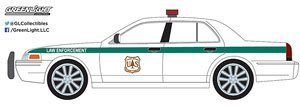2008 Ford Crown Victoria Police Interceptor Forest Service (USFS) Police (Hobby Exclusive) (ミニカー)