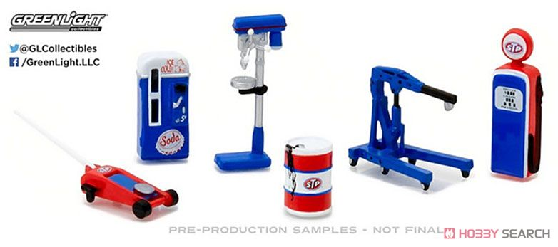 GL Muscle Shop Tools STP (Hobby Exclusive) (ミニカー)