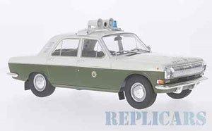 ヴォルガ M24 東ドイツ警察 1972 (ミニカー)