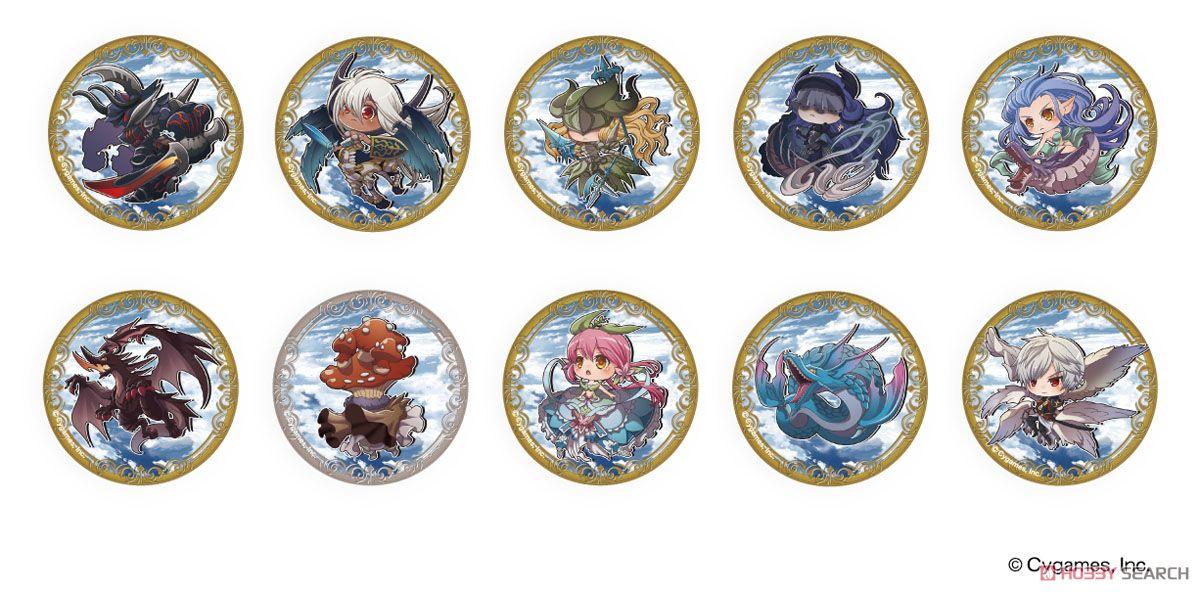 缶バッジ 「グランブルーファンタジー」03/星晶獣 10個セット (キャラクターグッズ)