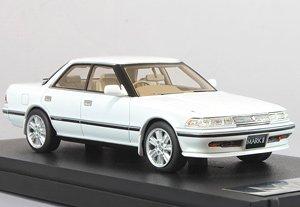 トヨタ マークII ハードトップ GT ツインターボ スーパーホワイト IV (ミニカー)