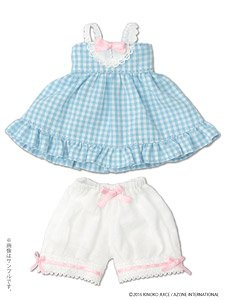 Kinoko Planet [Gingham Babydoll Set] Soda (Fashion Doll)