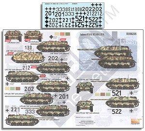 WWII独 IV号駆逐戦車 Sd.kfz.162 L/48 & L/70(V) (デカール)