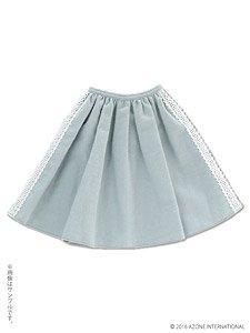 AZO2 乙女のあったかスカート (サックスブルー) (ドール)