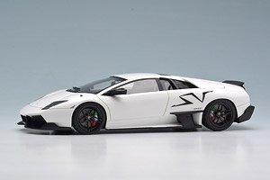 EM336 Lamborghini Murcielago LP670-4 SV Duck tail ver. ホワイト (ミニカー)