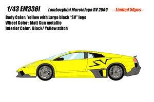 Em336 Lamborghini Murcielago Lp670 4 Sv Duck Tail Ver Yellow