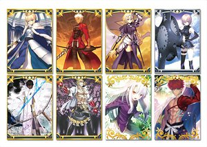Fate/Grand Order Trading A3 Clear Poster Vol.1 (Set of 8) (Anime Toy)