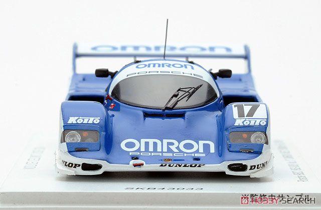 Porsche 962C (962-008) #17 Omron Fuji 1000km 2nd 1988 Klaus Ludwic