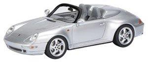 ポルシェ 911 (993) スピードスター シルバー (ミニカー)