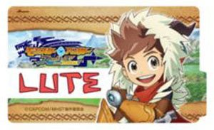 Monster Hunter Stories Ride On Dress Sticker Lute Anime Toy