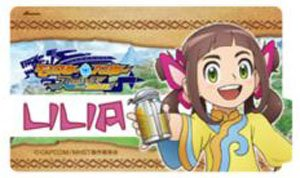 Monster Hunter Stories Ride On Dress Sticker Lilia Anime Toy