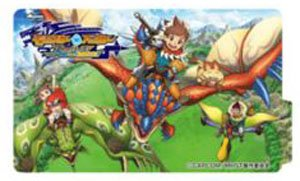 Monster Hunter Stories Ride On Dress Sticker Key Visual Anime Toy