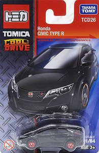 Honda Civic Type R Black Diecast Car Tomica Hobbysearch Toy Store
