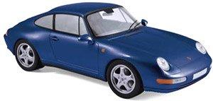 ポルシェ 911 カレラ 1994 メタリックアイリスブルー (ミニカー)