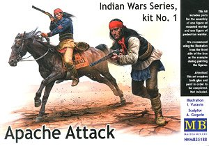 Indian War/ Apache Attack (Native American Soldiers 2