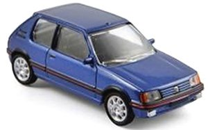 プジョー 205 GTi 1988 メタリックブルー (ミニカー)