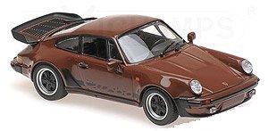 ポルシェ 911 ターボ 3.3 (930) 1979 ブラウン (ミニカー)