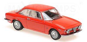 アルファ ロメオ ジュリエッタ スプリント GTA (1965) レッド (ミニカー)