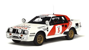 トヨタ セリカ ツインカム グループB Safari Rally 1984 (ホワイト/レッド) (ミニカー)