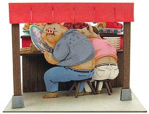 Miniatuart Studio Ghibli Mini Spirited Away Parents Become Pigs Assemble Kit Railway Related Items Hobbysearch Model Train Ho Z Store