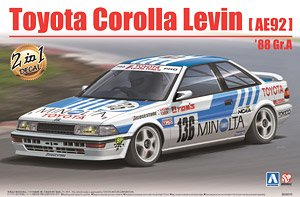Toyota Corolla Levin AE92 `88 Gr.A (Model Car)