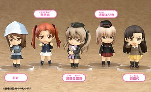 Nendoroid Petite: Girls und Panzer 02 (Set of 6) (PVC Figure)