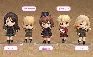 Nendoroid Petite: Girls und Panzer Other High Schools Ver. (Set of 6) (PVC Figure)