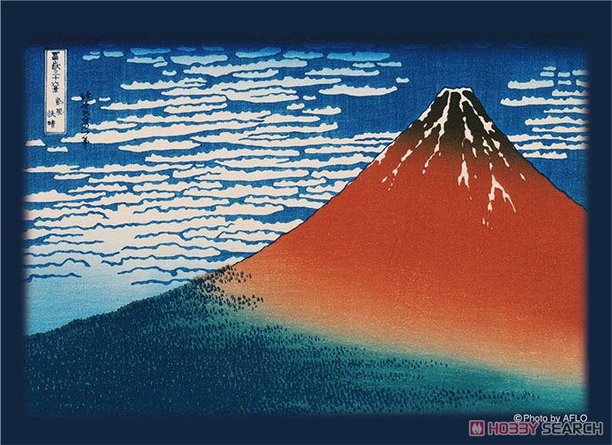 Broccoli Hybrid Sleeve Hokusai Katsushika [Thirty-six Views of Mount Fuji/Fine Wind, Clear Morning] (Card Sleeve) Item picture1