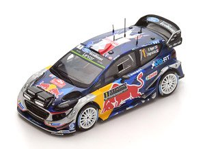 Ford Fiesta WRC No.1 Winner WRC Monte Carlo 2017 M-Sport World Rally Team (ミニカー)