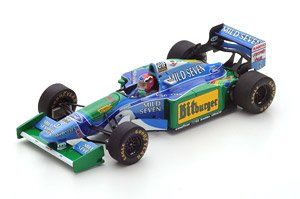 Benetton B194 No.6 Australian GP 1994 Johnny Herbert (ミニカー)