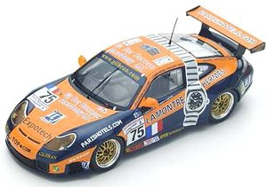 Porsche 996 GT3-RS No.75 Le Mans 2001 T.Perrier - M.Neugarten - N.Smith (ミニカー)
