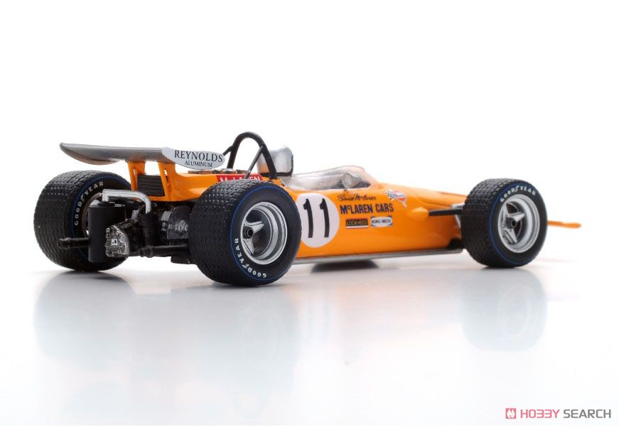 McLaren M14A No.11 2nd Spanish GP 1970 Bruce McLaren (ミニカー)