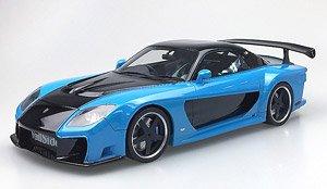 Veilside RX-7 Baby Blue (ミニカー)