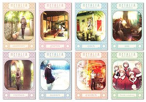 [Hetalia: Axis Powers] Trading Clear Poster (Set of 8) (Anime Toy)