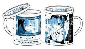 Re:ゼロから始める異世界生活 レム フタ付きマグカップ (キャラクターグッズ)
