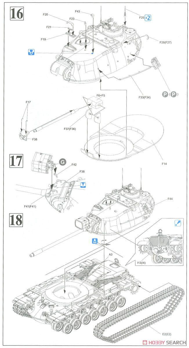 Military Tank Schematics