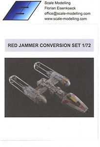 Red Jammer Conversion set for Y-wing Starfighter (for B) (Plastic model)