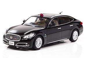 日産 シーマ ハイブリッド (Y51) 2013 警察本部幹部指揮車両 (ミニカー)