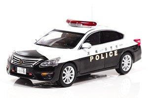 日産 ティアナ XE (L33) 2016 茨城県警察地域部自動車警ら隊車両 (ミニカー)
