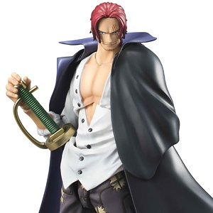 Variable Action Heroes One Piece Series Red-Haired Shanks w/Initial Release Bonus Item (PVC Figure)