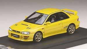 スバル インプレッサWRX タイプR Sti Ver.1997(GC8) スポーツホイール チェイスイエロー (ミニカー)