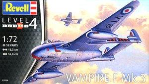 ヴァンパイア F Mk.3 (プラモデル)