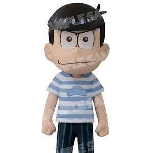 Osomatsu-san World Collectable Figure Avex Pictures x Banpresto Bordermatsu T-shirt Ver. (Karamatsu) (PVC Figure)