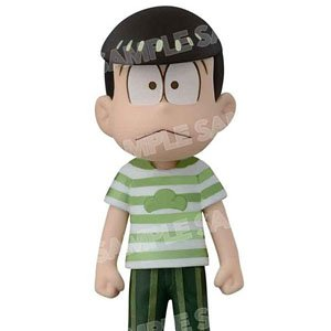Osomatsu-san World Collectable Figure Avex Pictures x Banpresto Bordermatsu T-shirt Ver. (Choromatsu) (PVC Figure)