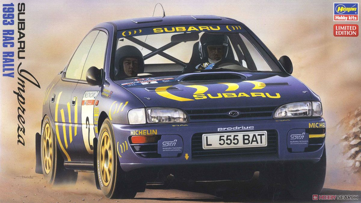 Subaru Impreza WRX `1993 RAC Rally` (Model Car) Package1