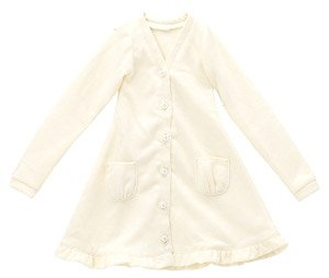 50 BlackRavenClothing Spring Color Long Cardigan (Cream Yellow) (Fashion Doll)