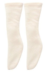50 Soft See-through Socks (Cream) (Fashion Doll)