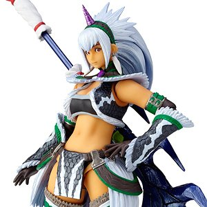 Vulcanlog 021 Monhan Revo Hunter Woman of the Sword Kirin U Series (Completed) (PVC Figure)