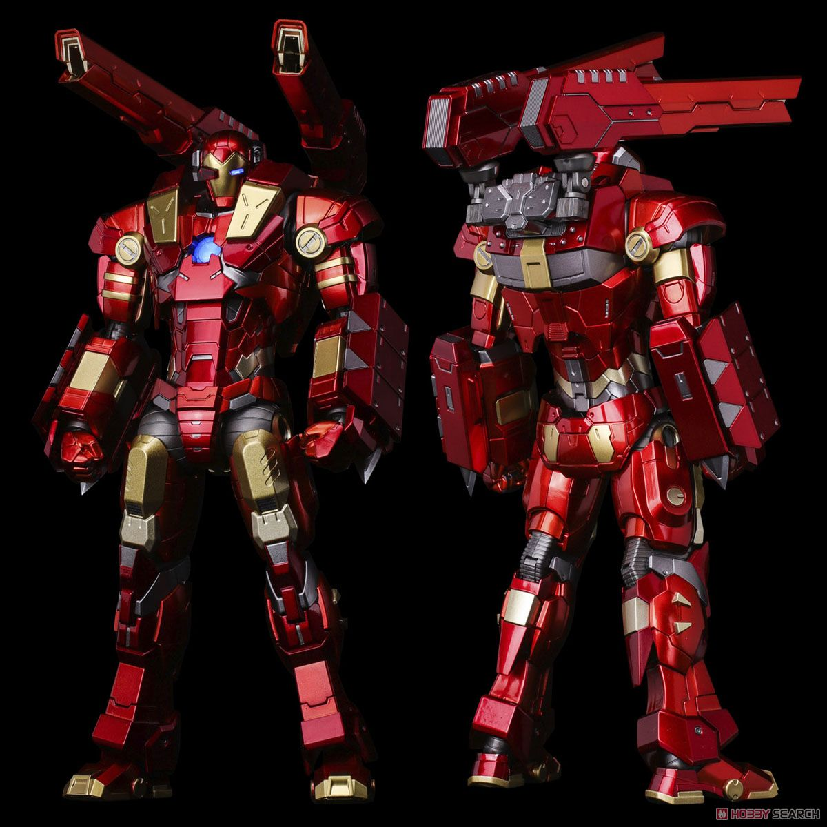 #11 MODULAR IRONMAN W/Plasma Cannon & Vibroblade `subject to final licensor`s approval` (完成品)